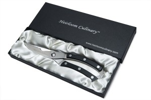 heirloom culinary kitchen scissors in quality case