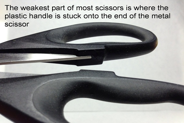generic handles unlike heirloom culinary scissors