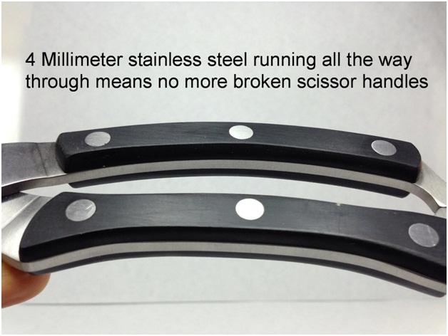 strong scissor handles