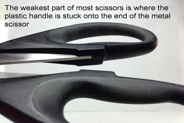 generic handles unlike heirloom culinary scissors
